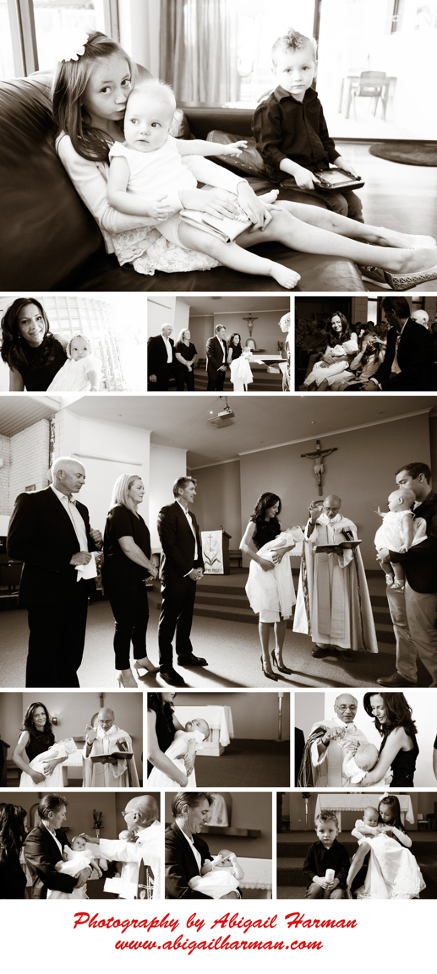 Christening photography by Abigail Harman