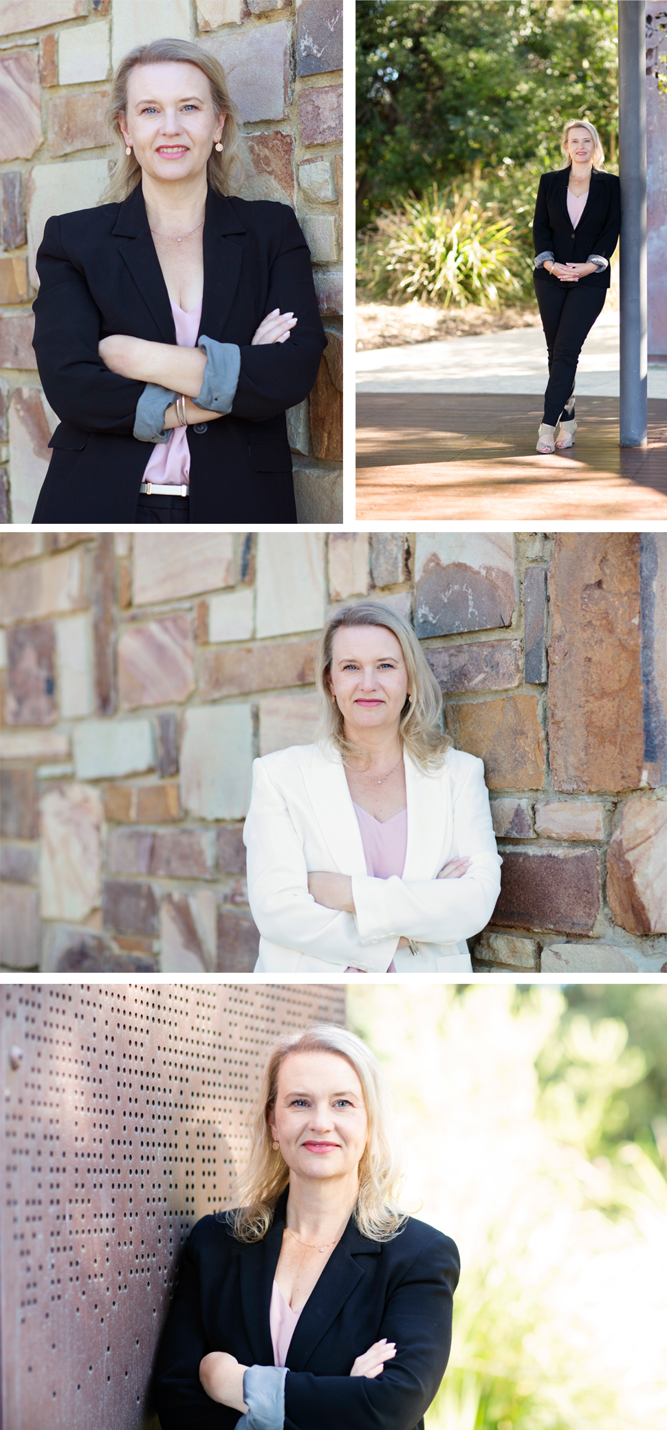Corporate portraits on location