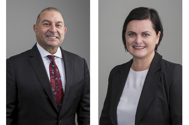 Corporate portraits with studio lighting in Perth